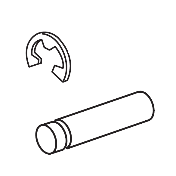 Thread Take-Up Lever Pin, Janome #731511006