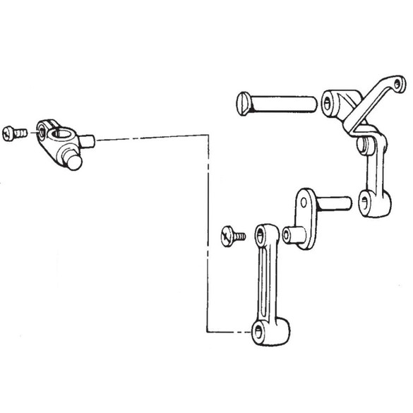 Thread Take Up Lever Assembly, Brother #S37925001