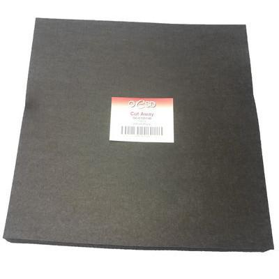 "Cut-Away Stabilizer Sheets (200pk) 15""x 15"", Black"