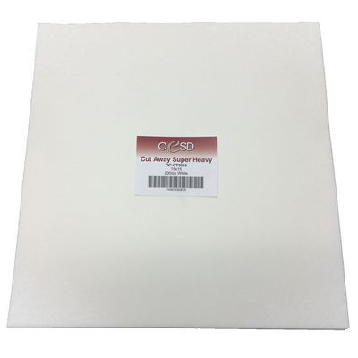 "Extra Weight, Cut-Away Sheets (200pk), 15""x 15"""