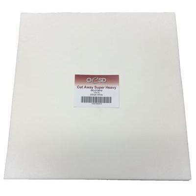 "Extra Weight, Cut-Away Sheets (200pk), 15""x 15"""