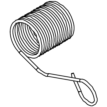 Thread Guide Spring, Singer #S1A0193000