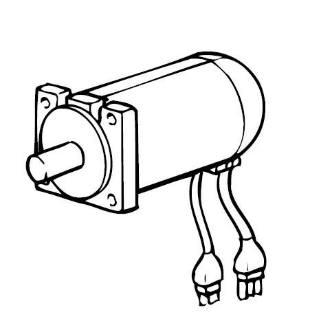 AC-Servo Motor 750, Brother #S40476000