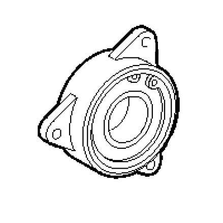 Bearing Case Assembly, Brother #S58331101