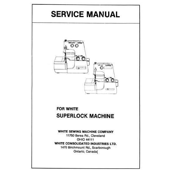 Service Manual, White 503