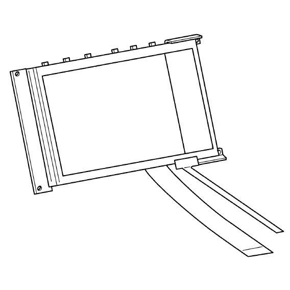 LCD Touch Screen, Brother #X81351001