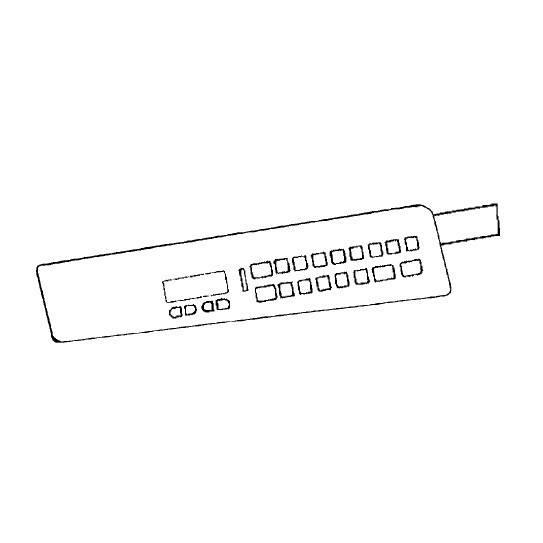 Keyboard Panel, Babylock #XA4915101