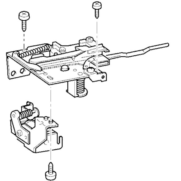 Thread Cutter Assembly, Brother #XA9515151