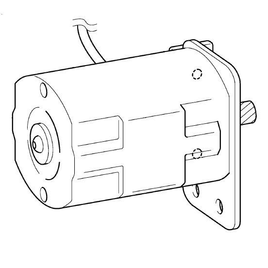 Motor, Brother #XB1601001