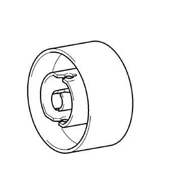 Handwheel, Babylock, Brother #XC2375051