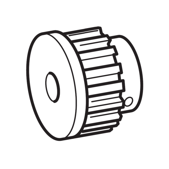 Timing Pulley, Brother #XC4943021