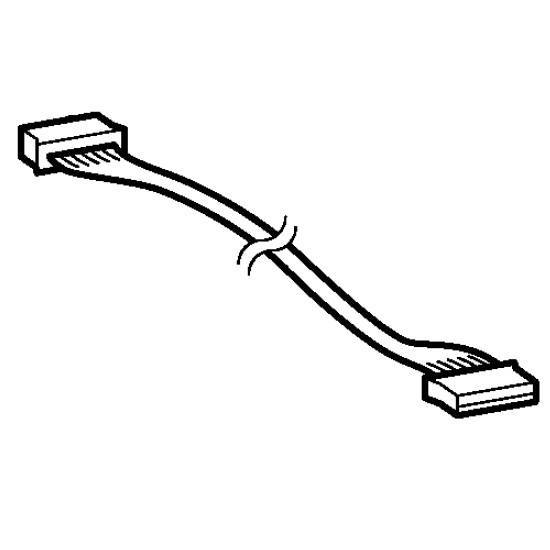 Main-Panel Lead Wire (A), Brother #XC8288051