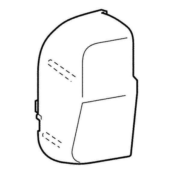 Face Plate B, Brother #XC8917021