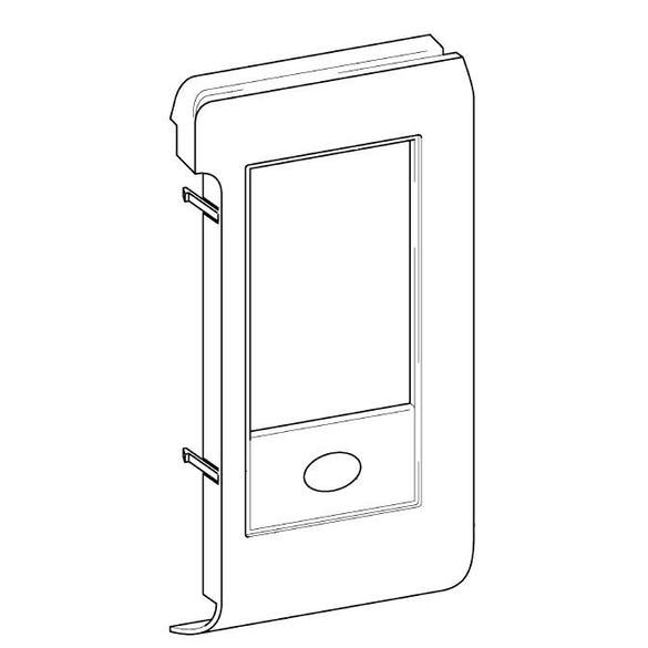 LCD Holder Supply Assembly, Brother #XD0308051
