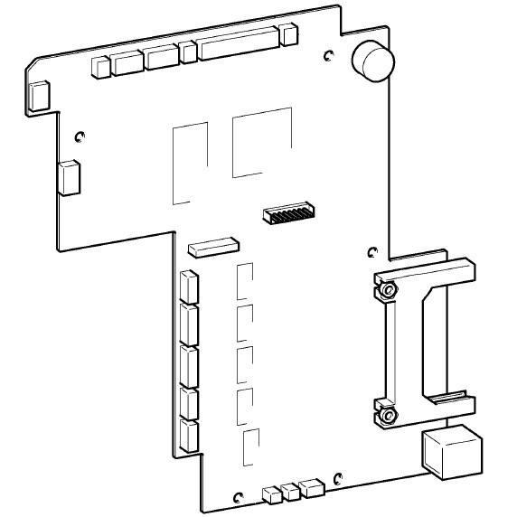 Main PC Board, Babylock #XE5631001