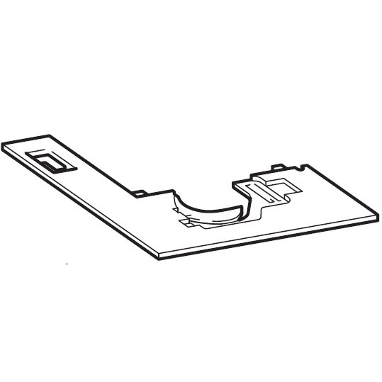 Needle Plate (B), Brother #XE6457001