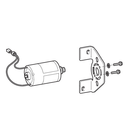 Main Motor Assembly, Brother #XE7610201