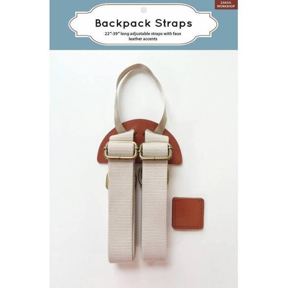"Backpack Straps (22""-39""), Zakka Workshop"
