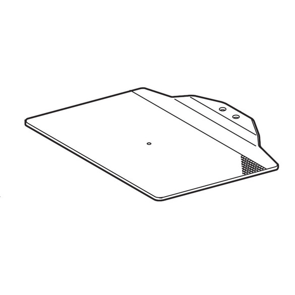 Heavy Feed Plate (Blank 434-2), Brother #S42035001