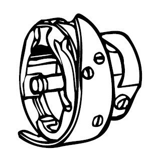 Rotary Hook Assembly, Brother #SA1708001
