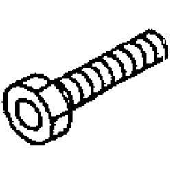 Screw (1/4-40 L=10.5), Juki #SS9661120CP