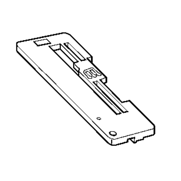 Needle Plate C, Brother #X77963001