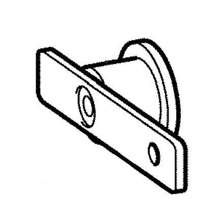Tension Pulley Assembly, Brother #XC2385051
