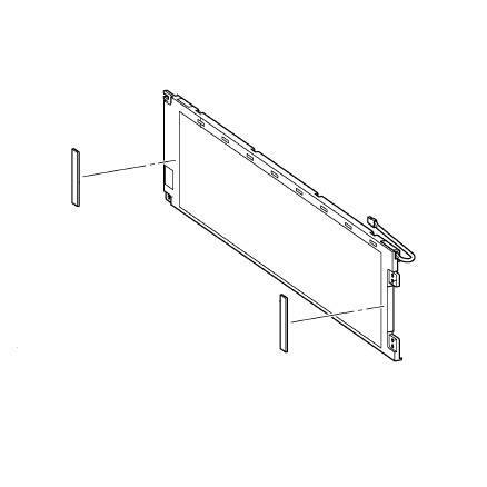 LCD Screen Assembly, Brother #XC7400051