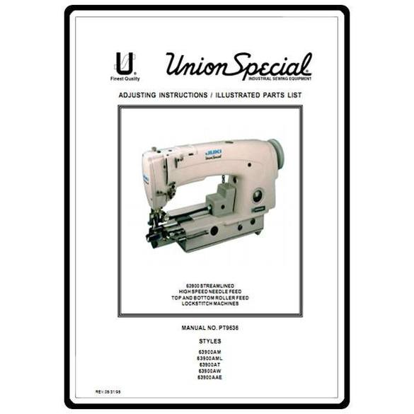 Service Manual, Juki Union Special