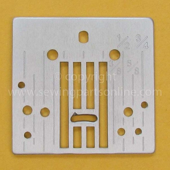 Needle Plate (A), Brother #XE9329001
