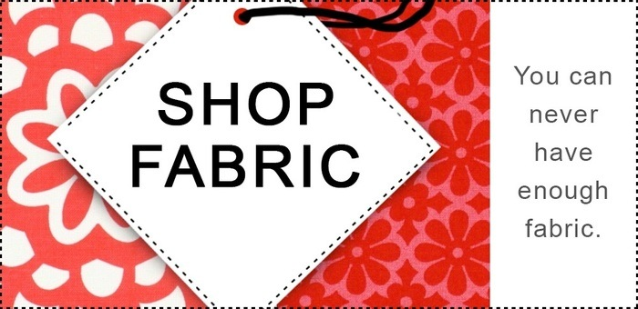 We support your fabric shopping :)