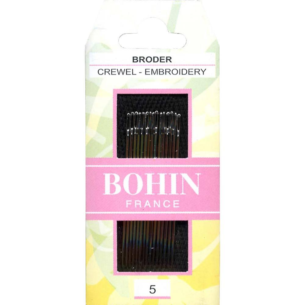 Bohin France Crewel Embroidery Needles Sizes 10