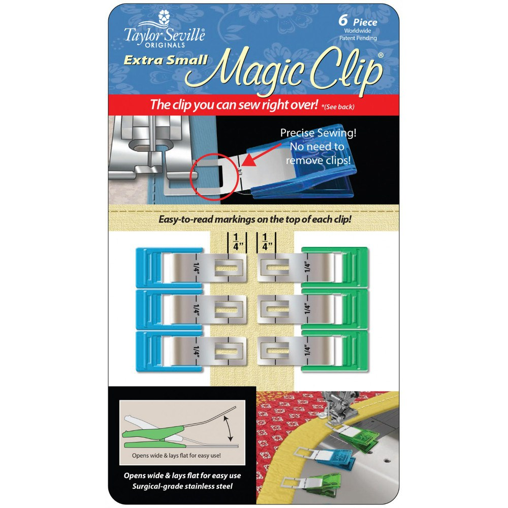 Small 6pk Magic Clips