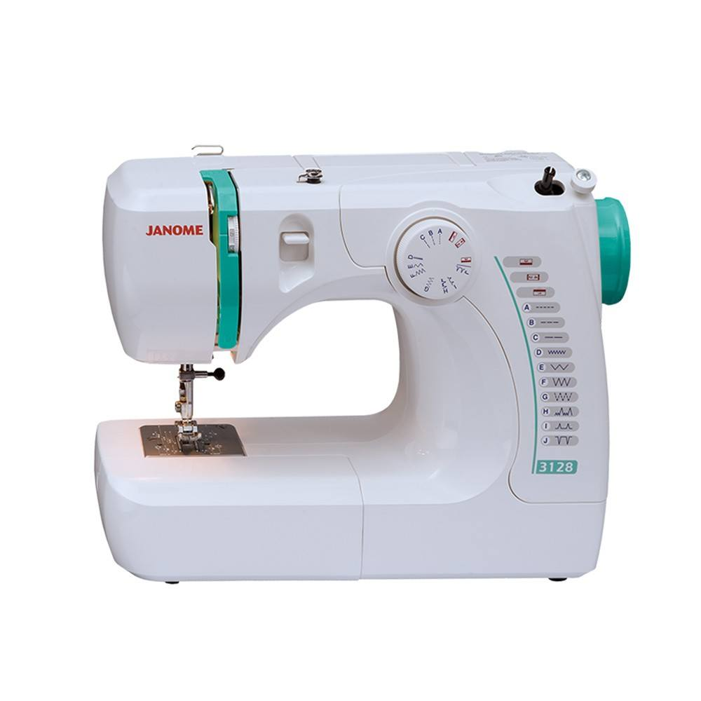 Janome 3128 Basic Sewing Machine : Sewing Parts Online