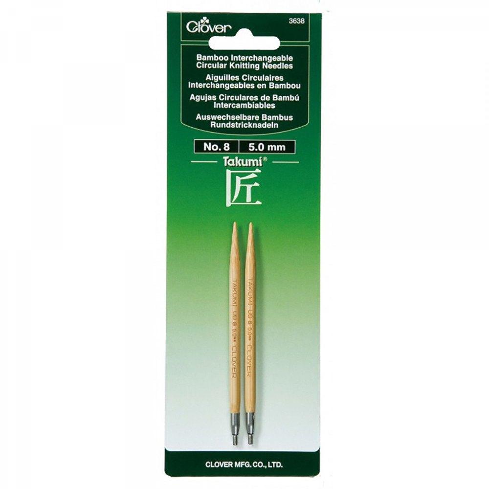 "Takumi Bamboo Circular Knitting Needles 29/""-size 10.5//6.5mm"