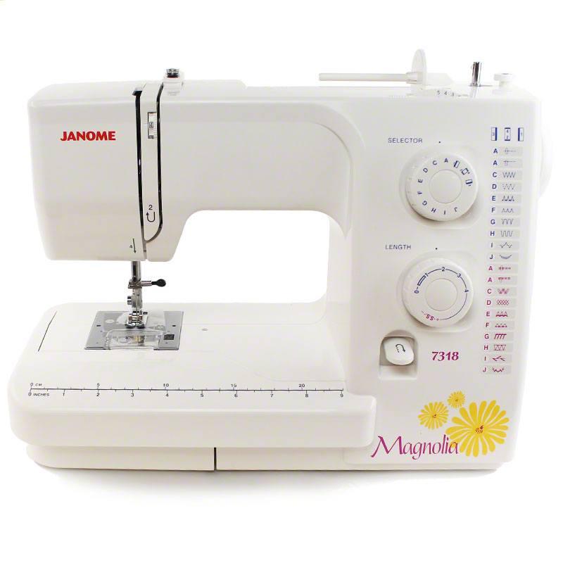 Janome Magnolia 40 Sewing Machine 40 Stitches Sewing Parts Online New Janome Magnolia 7318 Sewing Machine