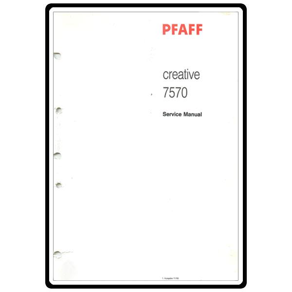 Pfaff 7570 service manual.