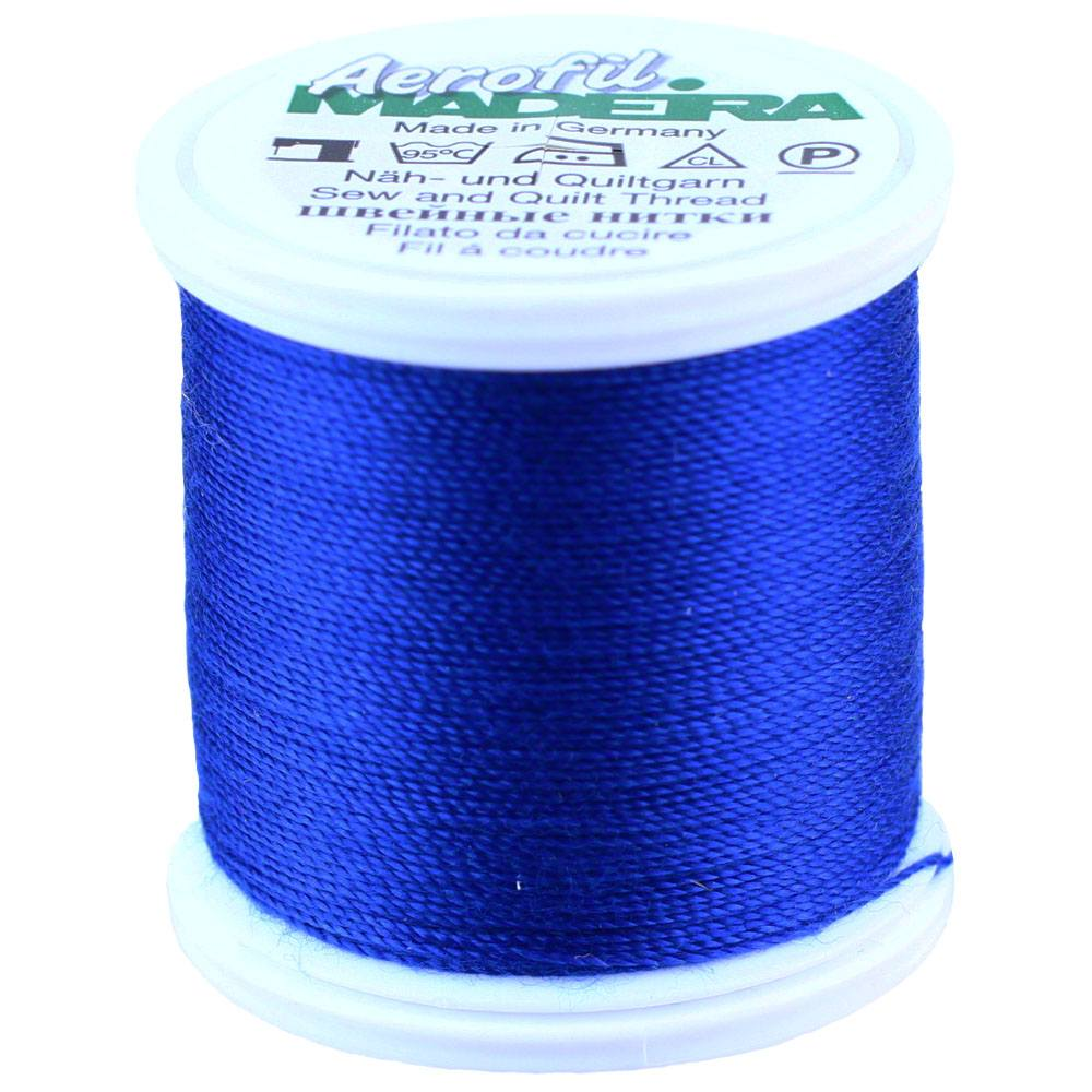 Madeira Aerofil Sewing Thread Box with 8 Bobbins of 100 m Each Extra Strong