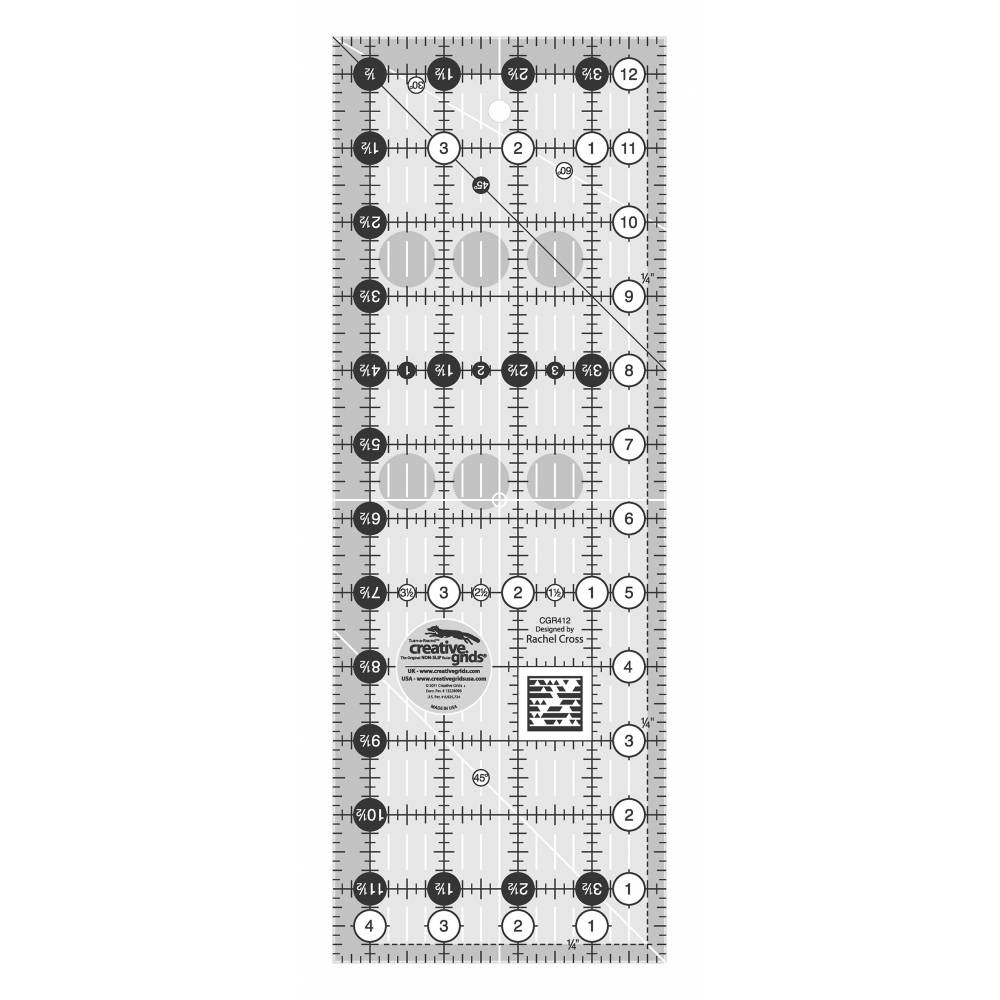 Quilting Ruler 4 1 2 Quot X 12 1 2 Quot Creative Grids Sewing