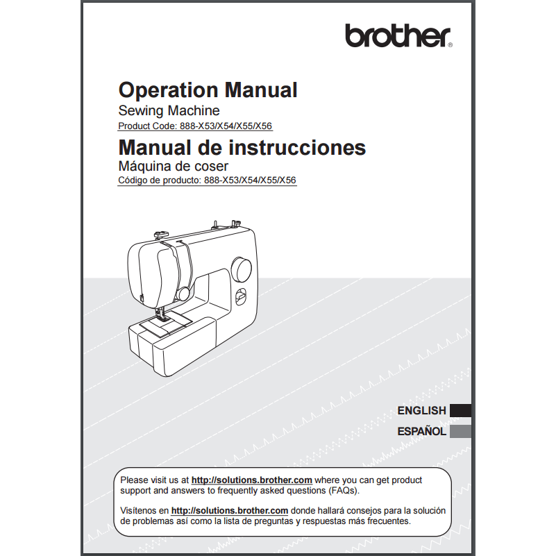 Instruction Manual Brother JX40 Sewing Parts Online Best How To Setup A Brother Jx2517 Sewing Machine