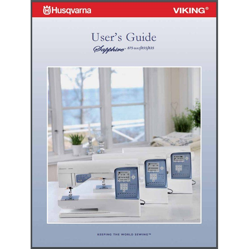 Instruction Manual Viking Sapphire 40 Sewing Parts Online New Sapphire 835 Sewing Machine Review