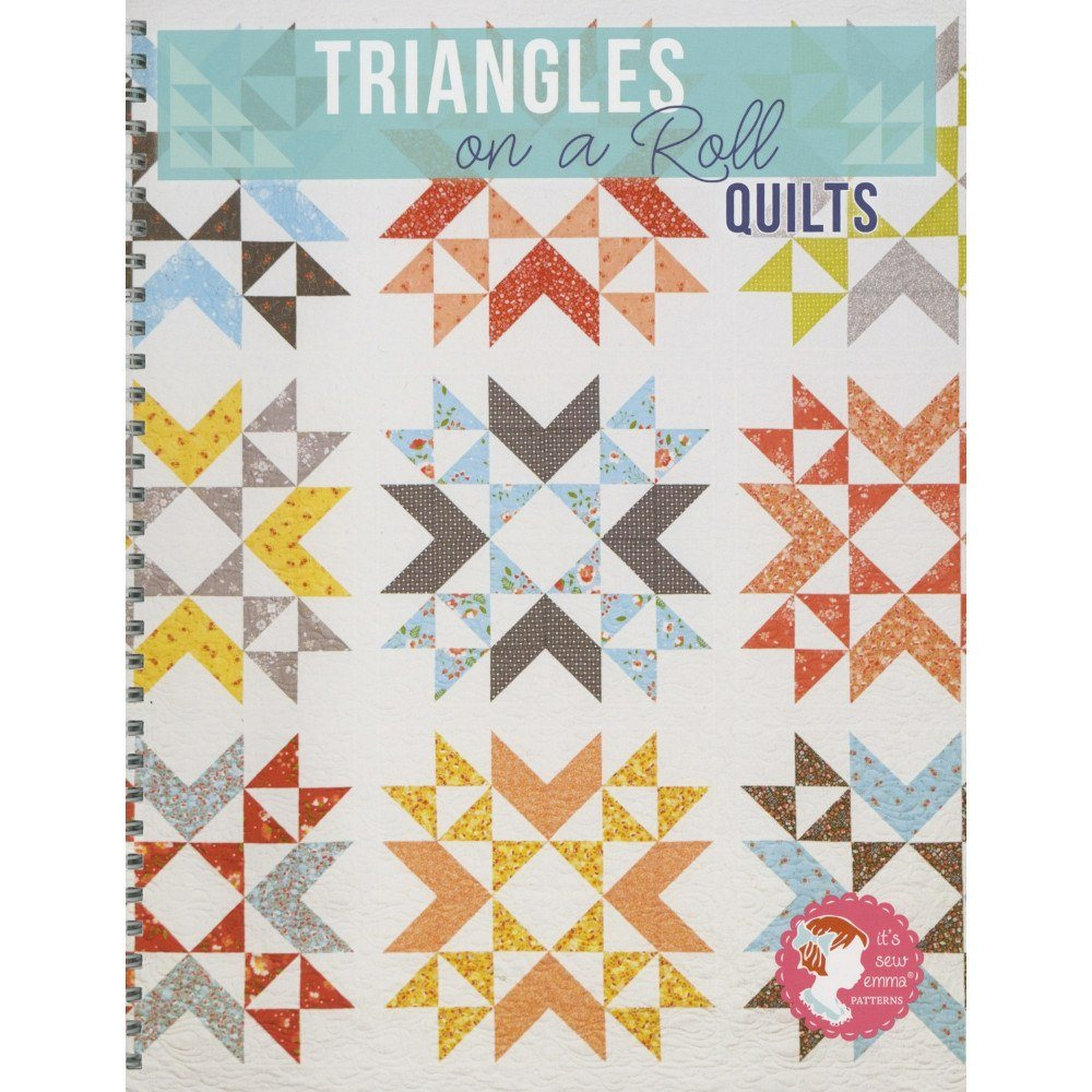 """Half-Square Triangles On A Roll 50/' 5/"""" Finished Size"""