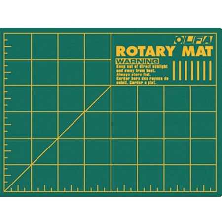 Olfa Cutting Mat 6X8 Md Wt Self-Healing Olfa Rotary Cutter