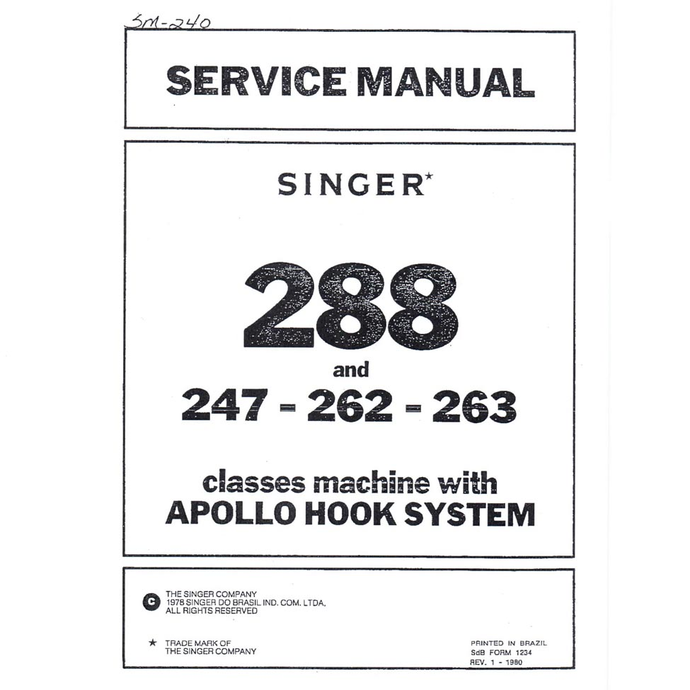 service manual singer 263 sewing parts online rh sewingpartsonline com singer service manual 14u44 singer service manual free download