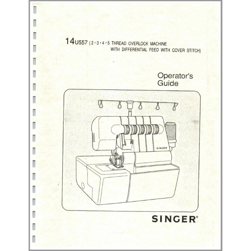 Instruction Manual Singer 14u557 Sewing Parts Online Free Kenmore Machine Treading Diagrams Sr 2