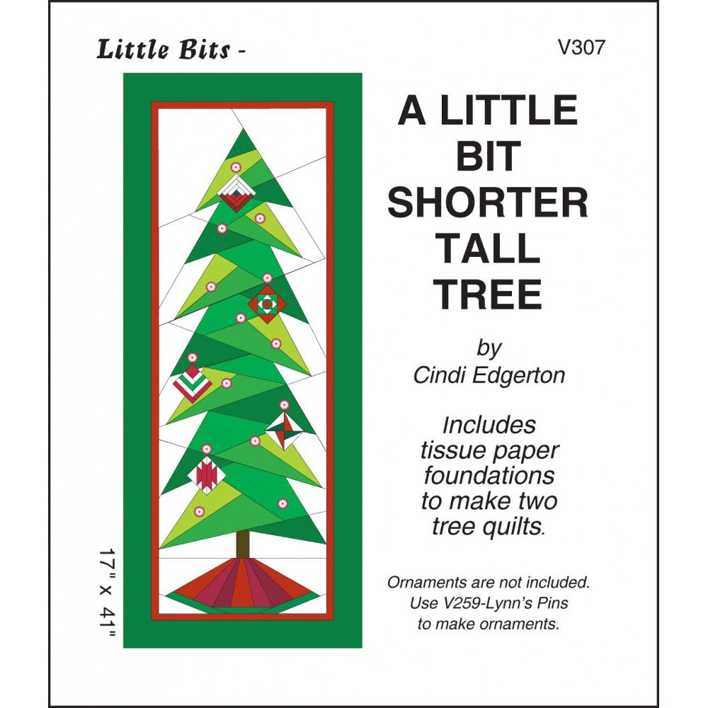 CHRISTMAS TREES SEWING PATTERN from Aunties Two Patterns