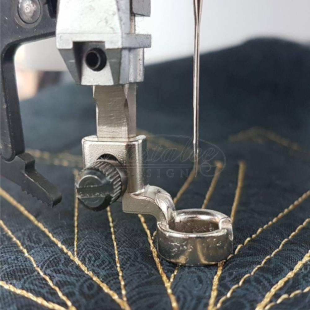 Westalee Medium Shank Ruler Foot W// Arc Template Pfaff Work with Bernina