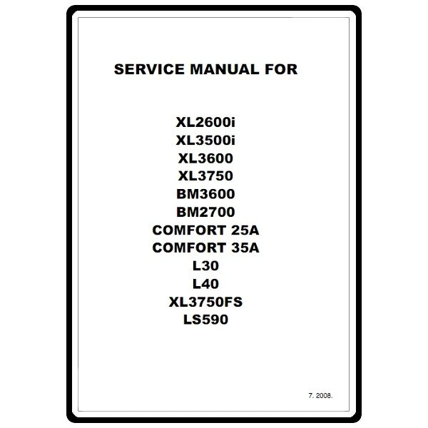 Service Manual Brother XL40 Sewing Parts Online Best Brother Xl 3600 Sewing Machine Manual