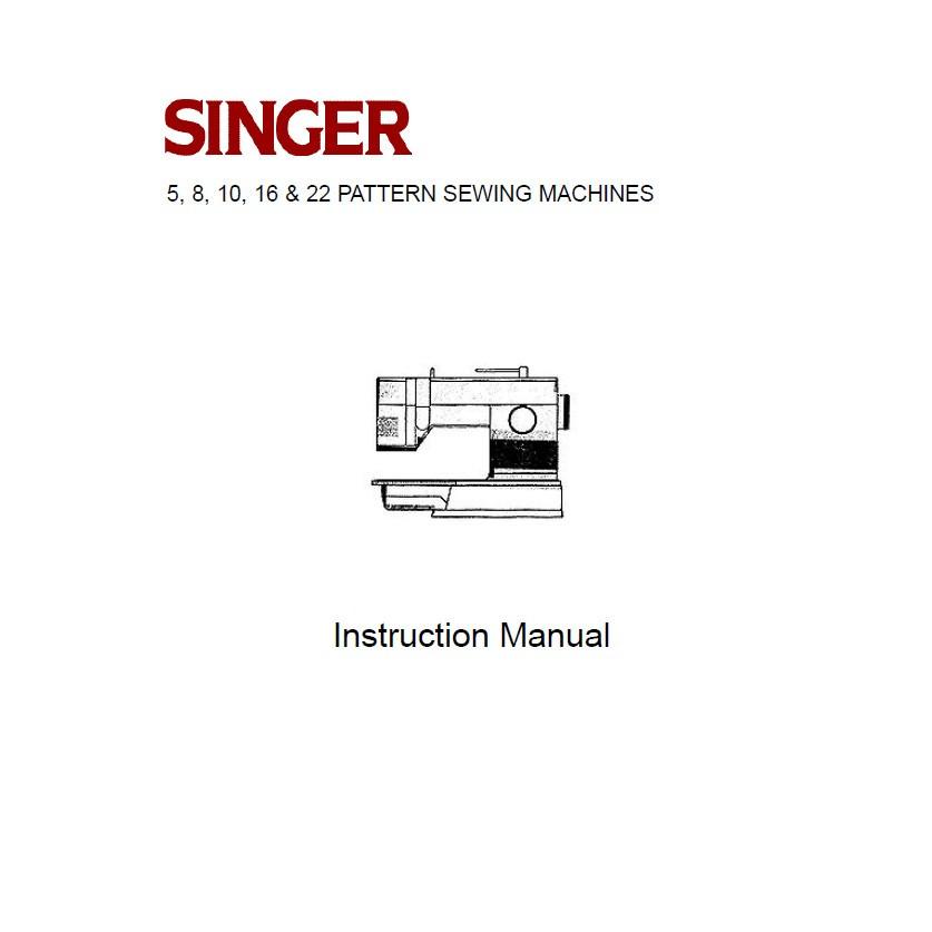 Singer 9805 manual.