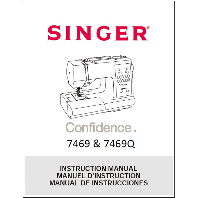 instruction manual singer 7469q sewing parts online rh sewingpartsonline com Singer 258 Sewing Machine Instruction Manual Singer Merritt 2404 Instruction Manual